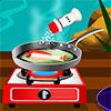 игра Жареная рыба с лимоном