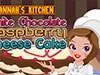 игра Ханнас кухня белый шоколадный десерт из малины сыра