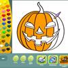 игра Хэллоуин раскраски страниц