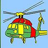 игра Тяжелый вертолет окраски