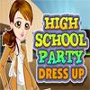 игра High School Party Dress Up