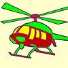 игра Горячие вертолет окраски