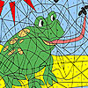 игра Hungry frog coloring