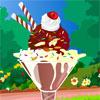 игра Мороженого с фруктами мороженого