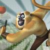 игра Кунг-фу Панда мир обезьянка бежит