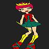 игра Немного новых принцесса окраски