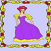 игра Одинокий принцесса в дворец окраску