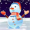 игра Прекрасные снеговика Dressup