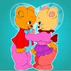 игра Прекрасный медведь раскраски