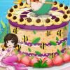 игра Прекрасные русалки торт