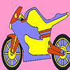 игра Металлический мотоцикл колорит