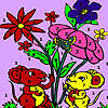 игра Mice in the garden coloring