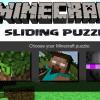 игра Minecraft скользящая головоломка