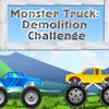 игра Монстр грузовик снос вызов