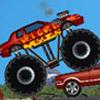 игра Монстр грузовик разрушитель