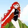 игра Molly mermaid dress up