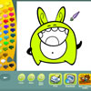 игра Monsters coloring pages