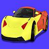 игра Modern concept car coloring