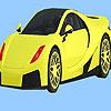игра Modern city car coloring