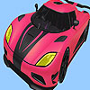 игра Most speed car coloring
