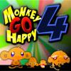 игра Обезьяна идти счастливы 4