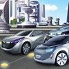игра Неоновый город парковка