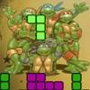 игра Ниндзя черепахи Тетрис