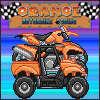 игра Оранжевый мотоцикл гонки
