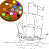 игра Краска мне корабль