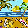 игра Palm beach coloring