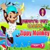 игра Peppys Pet Забота - яркий обезьяна