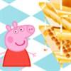 игра Peppa Свинья оформленный хлебобулочные