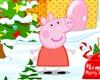 игра Peppa Свинья стиле Рождество