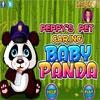 игра Peppys Pet Забота - Baby Panda