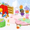 игра Peppa Свинья игровая комната Украшение