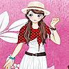 игра Pink garden girl dress up