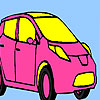 игра Pink personal car coloring