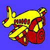 игра Расхитительницы самолет раскраски