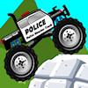 игра Полиция грузовик монстра