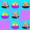 игра Pou Tic-Tac-Toe