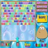 игра Pou Bubble Hit