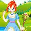 игра Принцесса Блум одеваться
