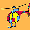 игра Private firm helicopter coloring