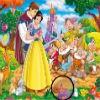 игра Принцесса Белоснежка скрытые звезды