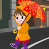 игра Rain Girl Dress Up