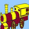 игра Деревня дребезжащий поезд окраски