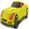 игра Red seater car coloring