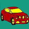 игра Красный больше окраски автомобиля