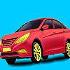 игра Красный, холдинг окраски автомобиля