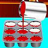игра Красные пирожня бархата
